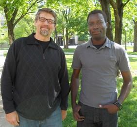 Michael Ferdig and Geoffrey Siwo