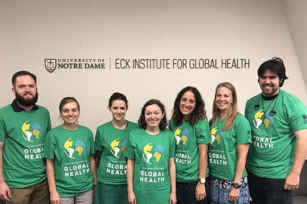 Eck Institute for Global Health announces new graduate student fellows
