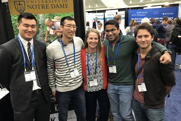 Notre Dame global health leaders attend American Society of Tropical Medicine and Hygiene meeting