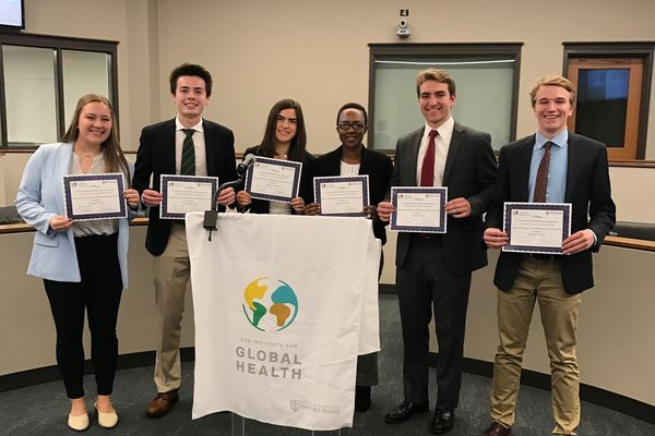 "Students tackle a ""global to local"" health challenge in 4th annual global health case competition"