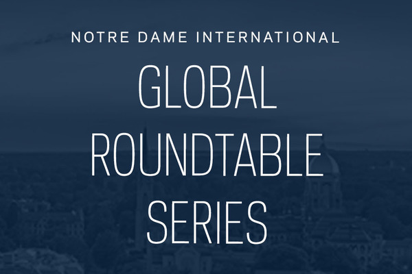 Notre Dame International introduces new virtual series focused on global challenges during pandemic and beyond